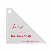 "Sew Easy Mini Easy Angle Ruler 5.25"" x 2.5"""